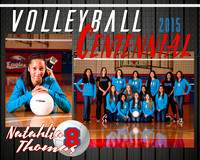 Natahlia Thomas Volleyball MemoryMate